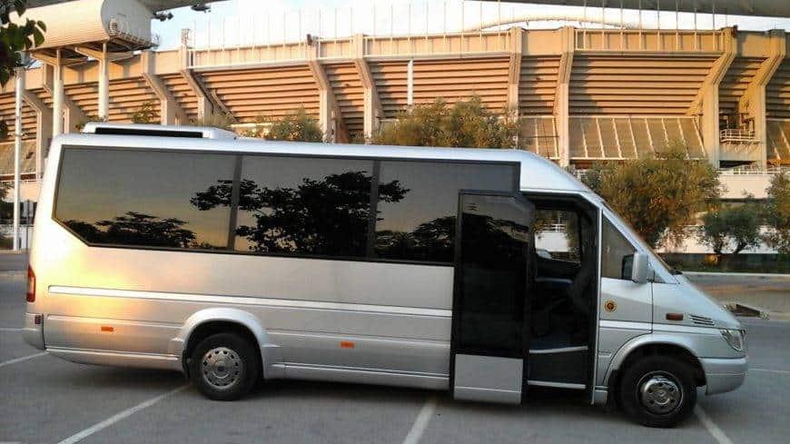Athens Minibus | Minibus Hire Athens | 17 - Seater Minibuses Greece